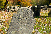 Ancient grave stone, Connecticut