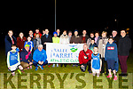 At the launching of the Tralee Harriers new lighting on Thursday evening by the Mayor of Tralee, Cllr: Norma Foley, committee members and sponsors.