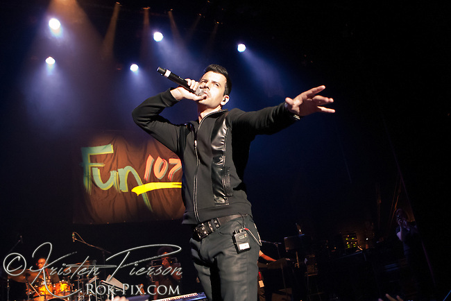 "Jordan Knight performs at the Zeiterion Theater for the Fun 107 ""Girls Night Out"" concert on August 20, 2011"