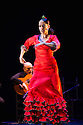 London, UK. 10.03.2014. Belen Maya Compnay present TRASMIN as part of the Flamenco Festival London 2014 at Sadler's Wells. Picture shows: Belen Maya. © Jane Hobson.