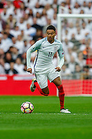 Jesse Lingard (Manchester United) of Englandduring the FIFA World Cup qualifying match between England and Malta at Wembley Stadium, London, England on 8 October 2016. Photo by David Horn / PRiME Media Images.