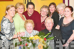 Special awards: Penny Woulfe and Cannon Patrick Kelly enjoying the Athea .Community Council Parish Social on Friday night with back l-r Margaret .Woulfe, Margaret Dalton, Vito Missorici, Eileen Fitzgerald, Margaret Woulfe, .Joan Enright and Elizabeth Woulfe..   Copyright Kerry's Eye 2008