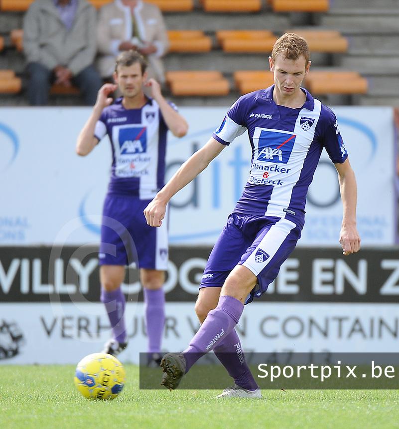 SV Wevelgem City : Simen Demeyere<br /> <br /> Foto VDB / Bart Vandenbroucke
