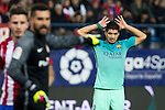 FC Barcelona's forward Luis Suarez during the match of Copa del Rey between Atletico de  Madrid and Futbol Club Barcelona at Vicente Calderon Stadium in Madrid, Spain. February 1st 2017. (ALTERPHOTOS/Rodrigo Jimenez)