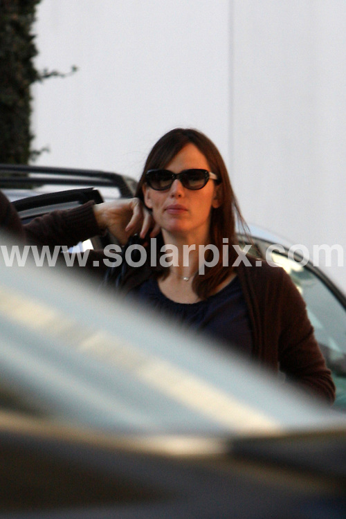 **ALL ROUND EXCLUSIVE PICTURES FROM SOLARPIX.COM**.**WORLDWIDE SYNDICATION RIGHTS**.**NO PUBLICATION IN AUSTRALIA, NEW ZEALAND,.DENMARK, GERMANY OR USA**.Ben Affleck gives his young daughter a helping hand into the nursery, alongside wife Jennifer Garner. Santa Monica, California, USA. 23rd October 2008..JOB REF: 7684 LAP (MDCW)       DATE: 23_10_2008.**MUST CREDIT SOLARPIX.COM OR DOUBLE FEE WILL BE CHARGED* *UNDER NO CIRCUMSTANCES IS THIS IMAGE TO BE REPRODUCED FOR ANY ONLINE EDITION WITHOUT PRIOR PERMISSION*