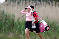 Paula Creamer (USA) walks the 2nd hole during the final round of the ShopRite LPGA Classic presented by Acer, Seaview Bay Club, Galloway, New Jersey, USA. 6/10/18.<br /> Picture: Golffile | Brian Spurlock<br /> <br /> <br /> All photo usage must carry mandatory copyright credit (&copy; Golffile | Brian Spurlock)