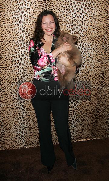 Fran Drescher and her dog Easther