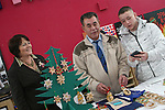 Youthreach Co-ordinator, Noella Manley with Michael Riley and Glen Keenan at the Drogheda Youthreach Craft Fair and Coffee Morning in aid of St Vincent De Paul and the Order of Malta...Photo NEWSFILE/Jenny Matthews.(Photo credit should read Jenny Matthews/NEWSFILE)....This Picture has been sent you under the condtions enclosed by:.Newsfile Ltd..The Studio,.Millmount Abbey,.Drogheda,.Co Meath..Ireland..Tel: +353(0)41-9871240.Fax: +353(0)41-9871260.GSM: +353(0)86-2500958.email: pictures@newsfile.ie.www.newsfile.ie.FTP: 193.120.102.198.