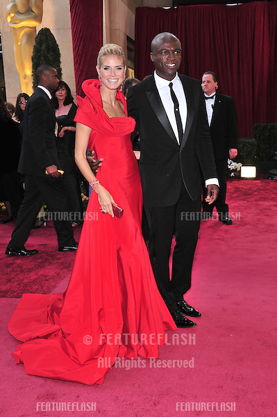 Heidi Klum & Seal at the 80th Annual Academy Awards at the Kodak Theatre, Hollywood, CA..February 24, 2008 Los Angeles, CA.Picture: Paul Smith / Featureflash