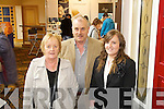 Sheila, Dan and Maria Buckley  from Killarney pictured at the Kerry ideal homes exhibition at the Brandon hotel on Sunday.