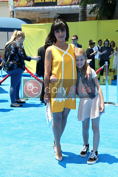 """Colette Zoe Lamoureux, Constance Zimmer<br /> at the premiere of """"The Emoji Movie,"""" Village Theater, Westwood, CA 07-23-17<br /> David Edwards/DailyCeleb.com 818-249-4998"""