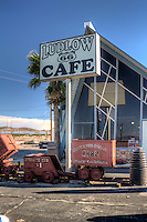 The Ludlow Coffee Shop on Route 66 in Ludlow California.  This used to be the Friends Coffe Shop during the days of Route 66.