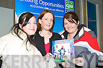 WHAT ABOUT ACCOUNTING: Students had a look at the accounting stand during the career fair on Tuesday afternoon in the North Campus IT Tralee. From l-r were: Cathy Julian, Jennifer Brennan (CPA Institute) and Linda Dillon .