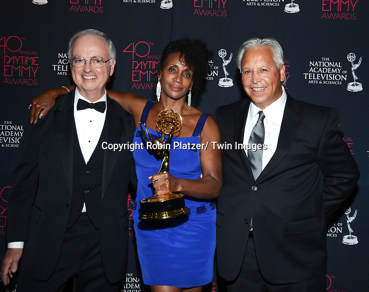 winners for DOOL for LIve and Tape mixing attends the 40th Annual Daytime Creative Arts Emmy Awards on June 14, 2013 at the Westin Bonaventure Hotel in Los Angeles, California.
