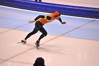 SCHAATSEN: HEERENVEEN: 01-02-2014, IJsstadion Thialf, Olympische testwedstrijd, Ronald Mulder, ©foto Martin de Jong