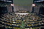 Votação da emenda por eleições diretas no Congresso Nacional. Brasília. 1984. Foto de Ricardo Azoury.