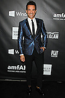 HOLLYWOOD, LOS ANGELES, CA, USA - OCTOBER 29: George Kotsiopoulos arrives at the 2014 amfAR LA Inspiration Gala at Milk Studios on October 29, 2014 in Hollywood, Los Angeles, California, United States. (Photo by Celebrity Monitor)