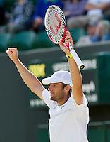 30-06-12, England, London, Tennis , Wimbledon, Mardy Fish