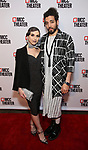 """Natalie Walker and Heath Saunders attends the opening night performance after party for the MCC Theater's 'Alice By Heart' at Kenneth Cole's """"The Garage"""" on February 26, 2019 in New York City."""