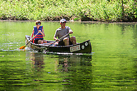 Canoeing the Buffalo National River near Kyles Landing.