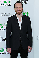 SANTA MONICA, CA, USA - MARCH 01: Michael Fassbender at the 2014 Film Independent Spirit Awards held at Santa Monica Beach on March 1, 2014 in Santa Monica, California, United States. (Photo by Xavier Collin/Celebrity Monitor)