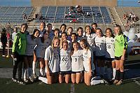 THHS Soccer '15-'16 senior night