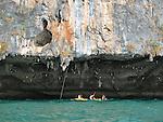 Kayaking, Phi Phi Islands, Thailand