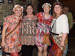 Eimear Davis celebrating her 50th birthday in Sarsfields with friends Caroline Redmond, Sorcha Dignam and Ann Gielty. Photo:Colin Bell/pressphotos.ie