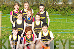 TEAM: The Farranfore Athletic Team who ran in the Kerry AAI Unevan Cross Country on Sunady in Kilmoyley: Front l-r: Jack O'Driscoll, Niall Donoghue and Aine Barry. Centre l-r: Liam Brosnan, Shane O'Donoghue and Aaron O'Brien. Back l-r: Aoife Horgan, Brid Kerrisk and Niamh Clifford...... ..............................   Copyright Kerry's Eye 2008