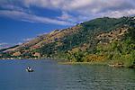 Fishing on Clear Lake, near Nice, Lake County, California