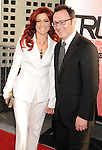 HOLLYWOOD, CA - MAY 30: Carrie Preston and Michael Emerson arrive at HBO's 'True Blood' Season 5 Los Angeles premiere at ArcLight Cinemas Cinerama Dome on May 30, 2012 in Hollywood, California.