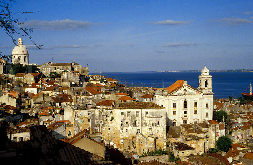Portugal. Lisbon.  The Alfama.