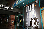 Theatre Marquee for the Off-Broadway opening Night Performance of 'Billy & Ray' at the Vineyard Theatre on October 20, 2014 in New York City.