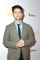 """LOS ANGELES - MAR 13:  Adam Scott at the """"Flower"""" Premiere at ArcLight Theater on March 13, 2018 in Los Angeles, CA"""