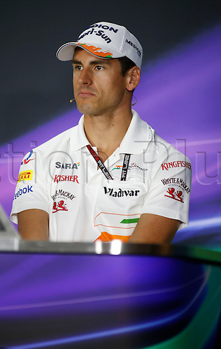 20.09.2013. Singapore. FIA Formula One World Championship 2013, Grand Prix of Singapore, <br /> #15 Adrian Sutil (GER, Sahara Force India F1 Team),