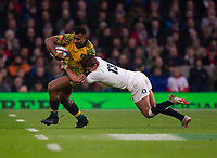 Photographer Bob Bradford/CameraSport<br /> <br /> 2018 Quilter Internationals - England v Australia - Saturday 24th November 2018 - Twickenham - London<br /> <br /> World Copyright &copy; 2018 CameraSport. All rights reserved. 43 Linden Ave. Countesthorpe. Leicester. England. LE8 5PG - Tel: +44 (0) 116 277 4147 - admin@camerasport.com - www.camerasport.com