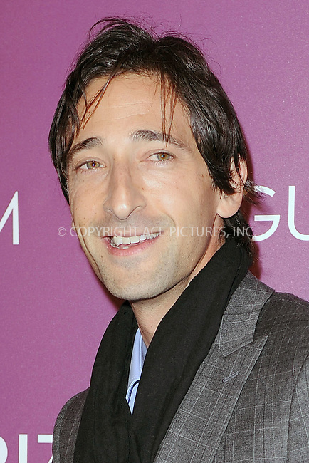WWW.ACEPIXS.COM . . . . . .November 4, 2010...New York City....Adrien Brody attends the 2010 Hugo Boss Prize at the Solomon R. Guggenheim Museum on November 4, 2010 in New York City....Please byline: KRISTIN CALLAHAN - ACEPIXS.COM.. . . . . . ..Ace Pictures, Inc: ..tel: (212) 243 8787 or (646) 769 0430..e-mail: info@acepixs.com..web: http://www.acepixs.com .