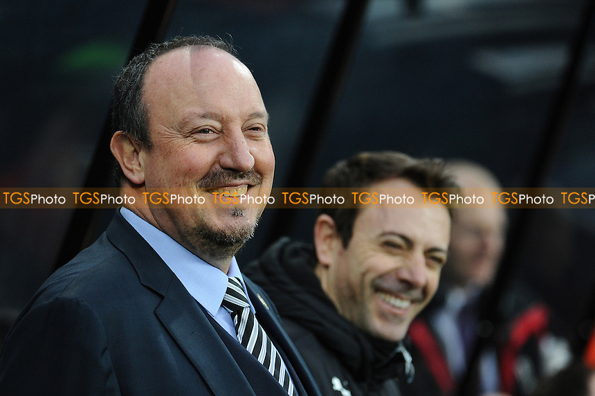 Newcastle United manager Rafa Benítez during Newcastle United vs Rotherham United, Sky Bet EFL Championship Football at St. James' Park on 21st January 2017