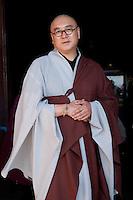 Buddhist lama at Gandantegchinlen Monastery