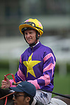 SHA TIN, HONG KONG – APRIL 28: Everyone's Joy, ridden by Zac Purton wins the FWD Insurance Insurance ICBC Handicap on FWD Champions Day at Sha Tin Racecourse in Hong Kong. Michael McInally/Eclipse Sportswire/CSM