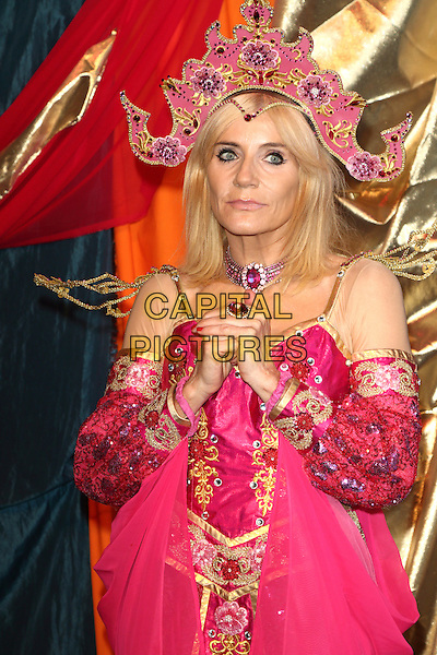 Michelle Collins at the Photocall for the upcoming pantomime Aladdin at the Waterside Theatre, Aylesbury, Bucks on Friday September 9th 2016<br /> CAP/JIL<br /> Jill Mayhew/Capital Pictures