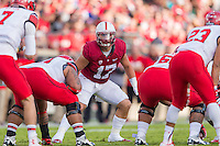STANFORD, CA - NOVEMBER 15, 2014: A.J. Tarpley during Stanford's game against Utah. The Utes defeated the Cardinal 20-17 in overtime.