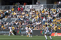 9th November 2019; Bankwest Stadium, Parramatta, New South Wales, Australia; International Womens Friendly Football, Australia versus Chile; a few Chile fans amongst the Australia fans - Editorial Use