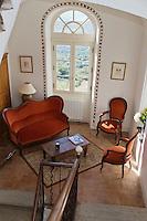 Europe/France/2B/Haute Corse/Pigna: Maison d' hôtes,  U Palazzu  - salon