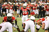 January 5th, 2008:  Ball State place kicker Ian McGarvey (26) lines up for a 24 yard field goal attempt during the second quarter of the International Bowl at the Rogers Centre in Toronto, Ontario Canada...Rutgers defeated Ball State 52-30.  ..Photo By:  Mike Janes Photography