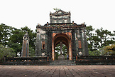 VIETNAM, Hue, an outdoor shrine at the Tu Duc Tomb