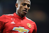 5th November 2017, Stamford Bridge, London, England; EPL Premier League football, Chelsea versus Manchester United; Luis Antonio Valencia of Manchester Utd wears the Poppy on his shirt