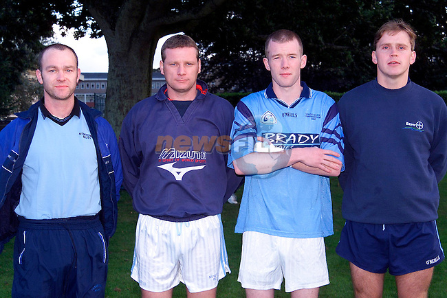 Peter Judge, Damien Martin, Eoghan Judge and Paul Kelly..Picture: Paul Mohan/Newsfile
