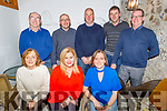 The Abbeydorney Badminton Club enjoying the evening in Bella Bia on Saturday.<br /> Seated l to r: Roisin Rice, Michelle Fitzmaurice and Liz McCarthy.<br /> Back l to r: Brendan Healy, John Hickey, Tom Rice, Pat Bradley and Tom Fitzmaurice.