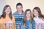 ENJOYING: Karen Murphy, Damian Murphy, Lisa O'Sullivan and Elaine O'Sullivan, Portmagee enjoying the Variety show in the Aras Padraig, Killarney on Saturday.   Copyright Kerry's Eye 2008